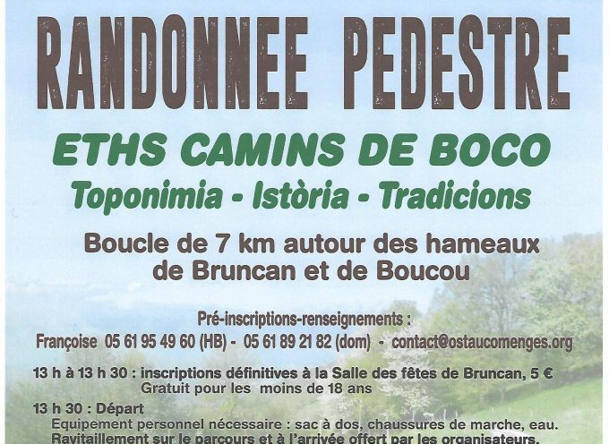 Sauveterre de Comminges : Rando Occitane