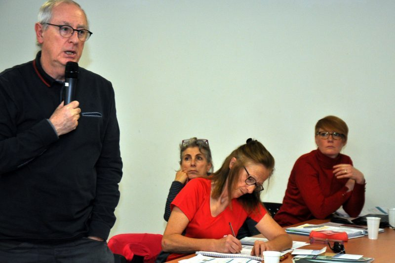 Gérald Baude promu au comité régional