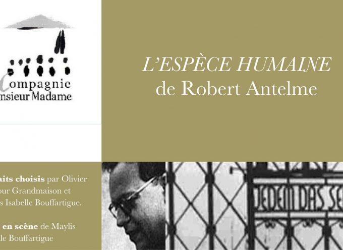 Soirée Théâtre à Martres Tolosane : L'Espèce Humaine de Robert Antelme