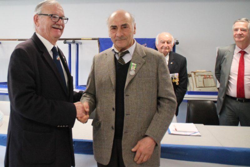 Alfred Contarin a reçu le Mérite Fédéral