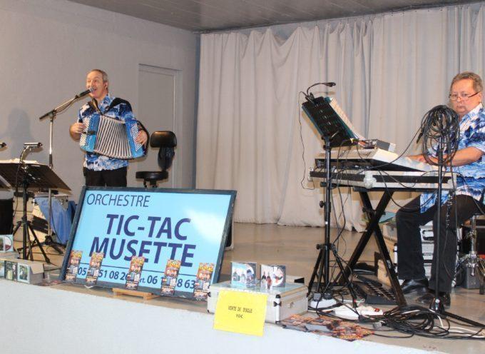 Saint-Gaudens : Thé dansant avec Tic-Tac Musette