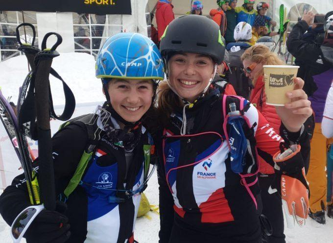 Deux Pyrénéennes au championnat du Monde de ski en Suisse !!