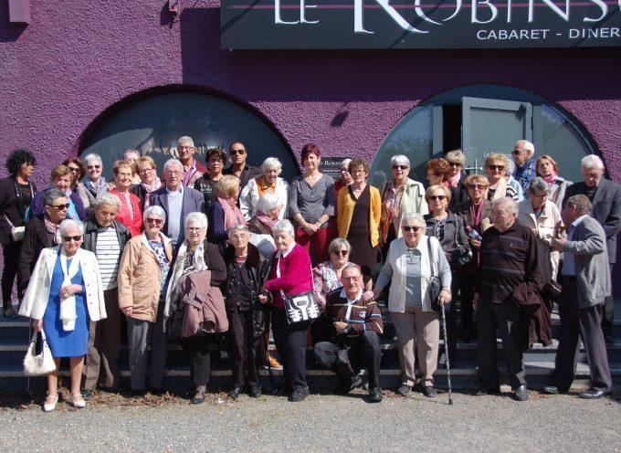 Cazères : Le Fil d'Argent en sortie au Cabaret Le Robinson