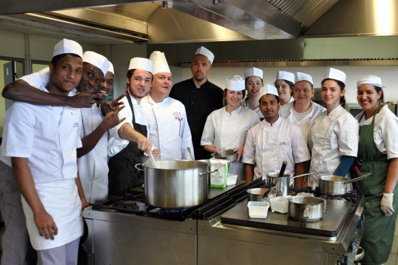 La cuisine et le chef Frédo Tajan