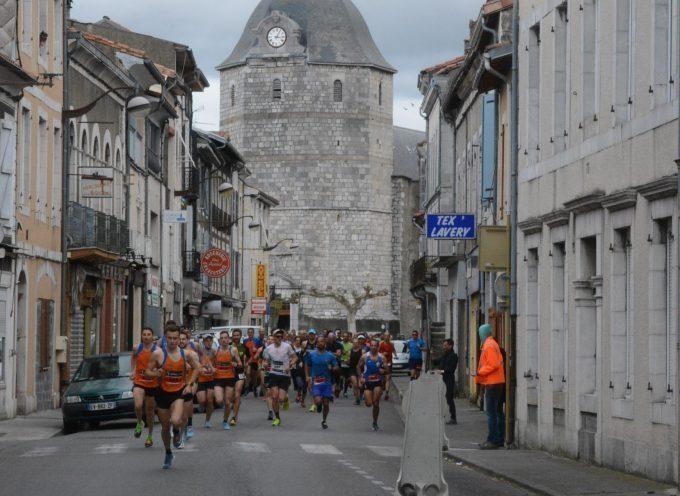 Course pédestre à Montréjeau