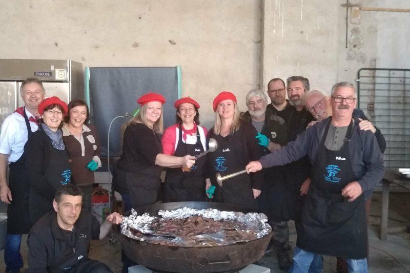 La dynamique équipe du comité des fêtes de Saint Julien sur Garonne