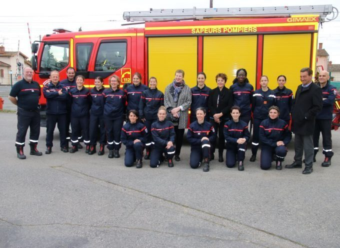 Les femmes sapeurs pompiers du Volvestre en action!