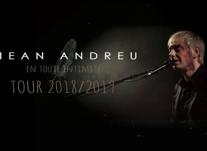 """Jean Andreu """"En tout intimité… Tour 2018/2019"""" à Aurignac"""