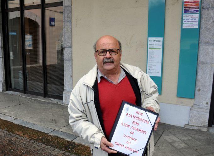 Montréjeau : Non à la fermeture du Crédit Agricole