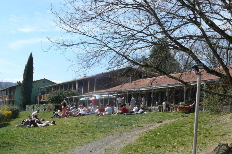 Dimanche l'école Sup de Co de Toulouse, 92 personns séjournent au Bois Perché