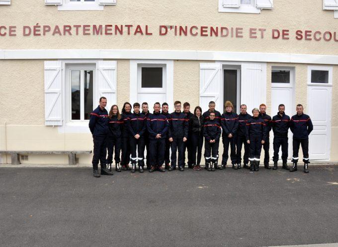 Montréjeau : Des jeunes pompiers volontaires en stage