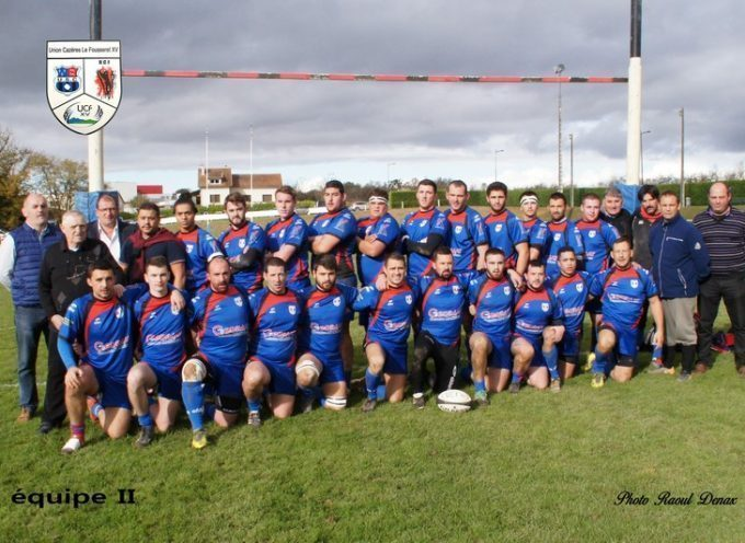 Rugby XV : L'UCF XV en phases finales