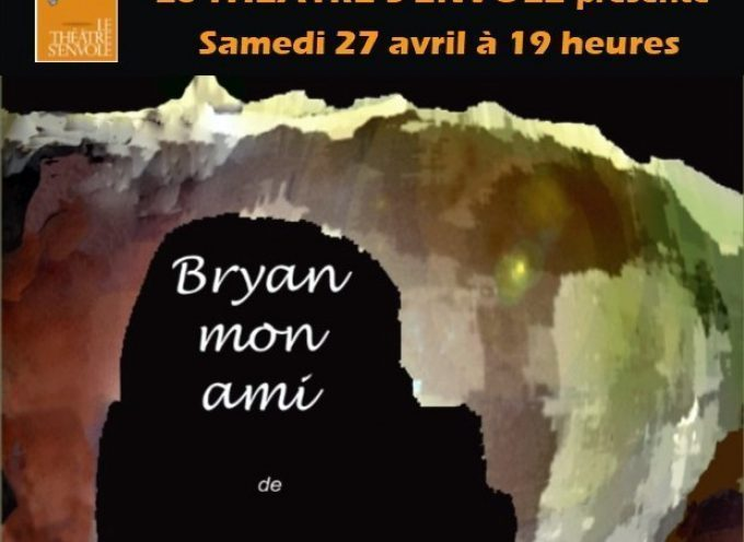 """Rieux : Lecture-Spectacle """"Bryan mon ami"""""""