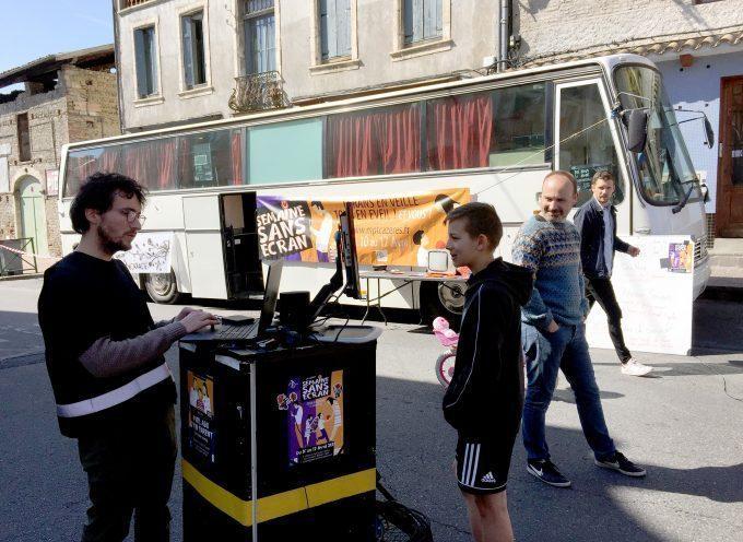 Cazères : Deuxième semaine sans écran
