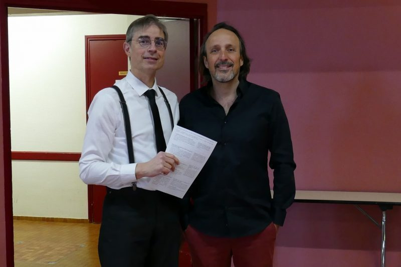Marc Maurel et Stéphane Battle