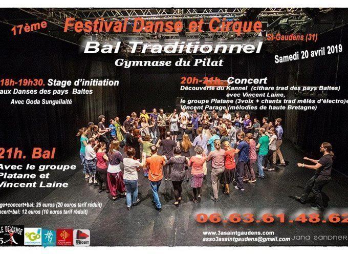 Saint-Gaudens : 17ème Festival danse et cirque de l'association des 3A