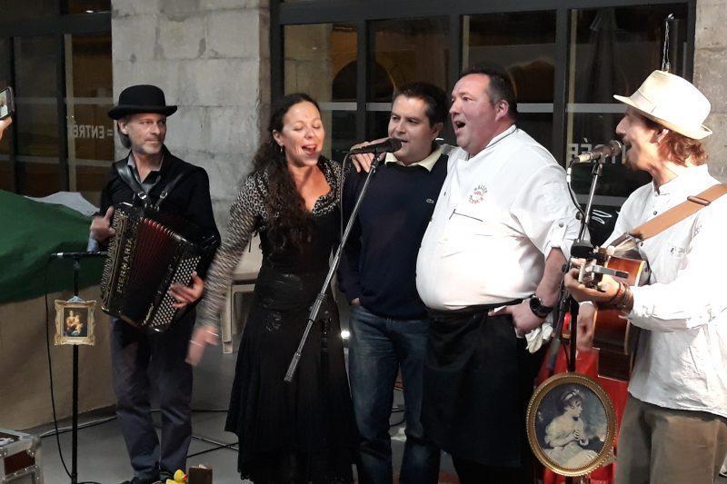 Le chant basque Hegoak repris en coeur