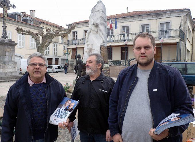 Montréjeau : La campagne est lancée pour les Européennes !
