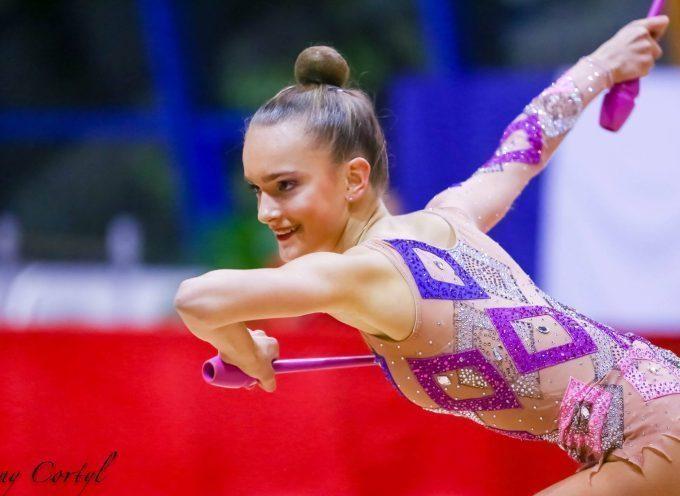 La Saint-Gaudinoise Maëlle Millet championne de France de gymnastique