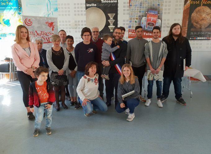 Martres-Tolosane : Carole Delga et Loïc Gojard ont reçu les jeunes électeurs