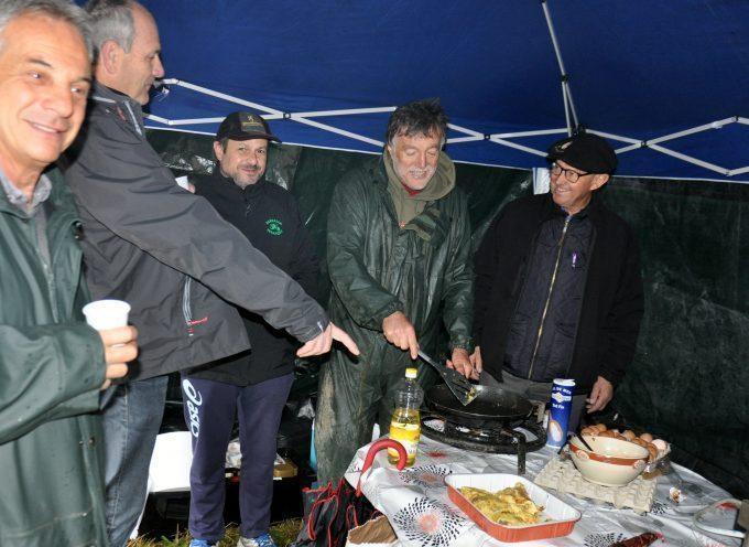 Gourdan-Polignan : Matinée de pêche pluvieuse