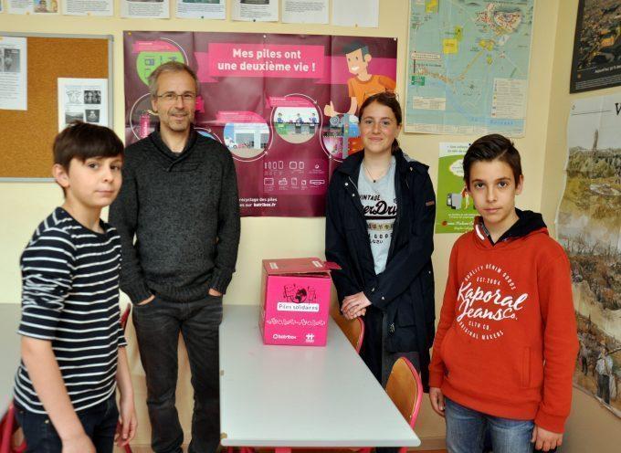 Montréjeau : Opération Piles solidaires réussie au collège