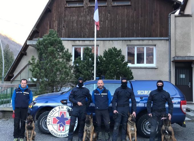 Le Groupe d'Intervention de la Gendarmerie Nationale (GIGN) à l'entrainement à Luchon