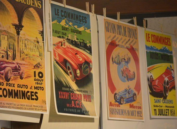 Le musée du Grand Prix en haut de l'affiche