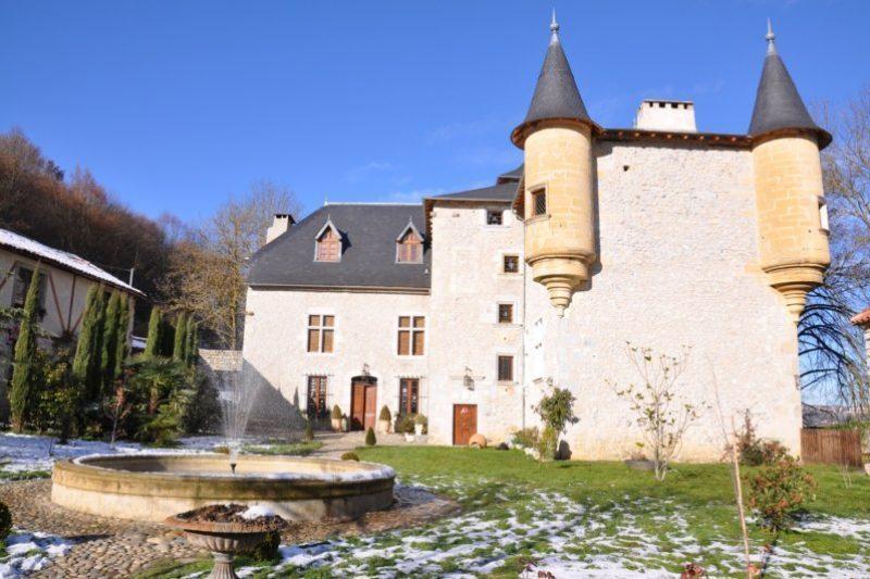 Le château de Gourdan magnifiquement restauré