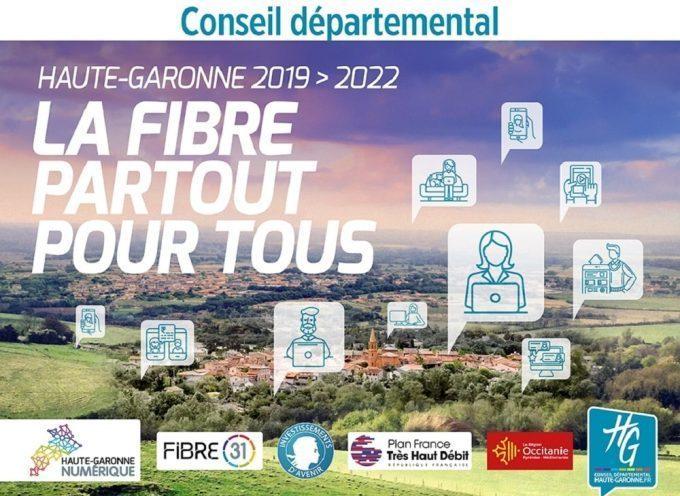 Fibre Optique en Haute-Garonne : 4 réunions d'information en août 2021
