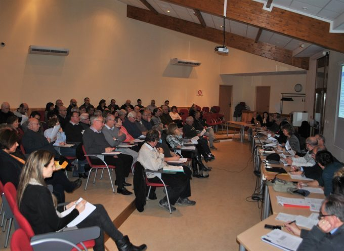 Réunion du conseil communautaire Cœur de Garonne mardi 28 mai 2019