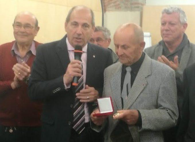 Cent printemps et la médaille de la ville pour Jean Pontin-Manent