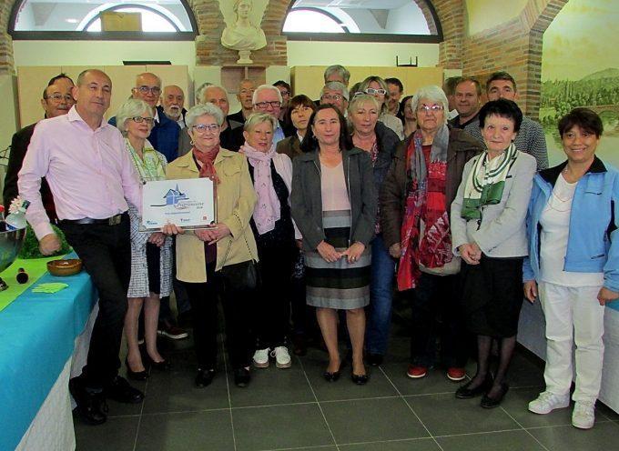 La municipalité de Cazères reçoit les rubans du patrimoine pour la réhabilitation de son église