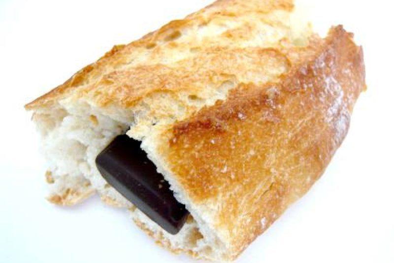 Ceci est un pain au chocolat