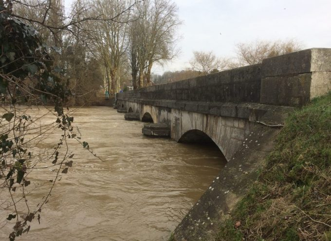 Point de situation alerte crues Haute Garonne:  RN 125 inondée à Saint Béat…