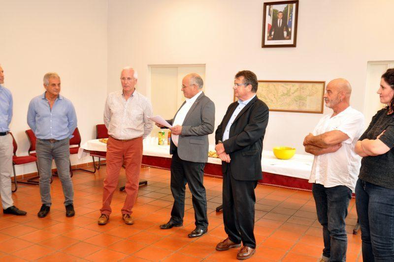 Francis Lasbats, Patrick Saulneron et Patrice Rival