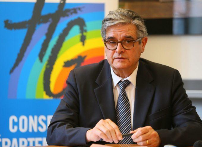 Couvre-feu à 18h: Réaction de Georges Méric, président du Conseil départemental