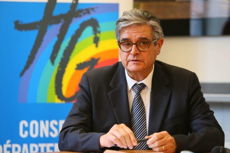 Georges Méric président du conseil départemental de la Haute Garonne