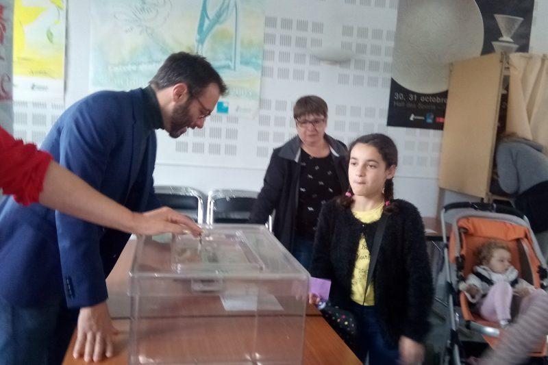 Monsieur Le Maire, Loïc Gojard, a proclamé les résultats
