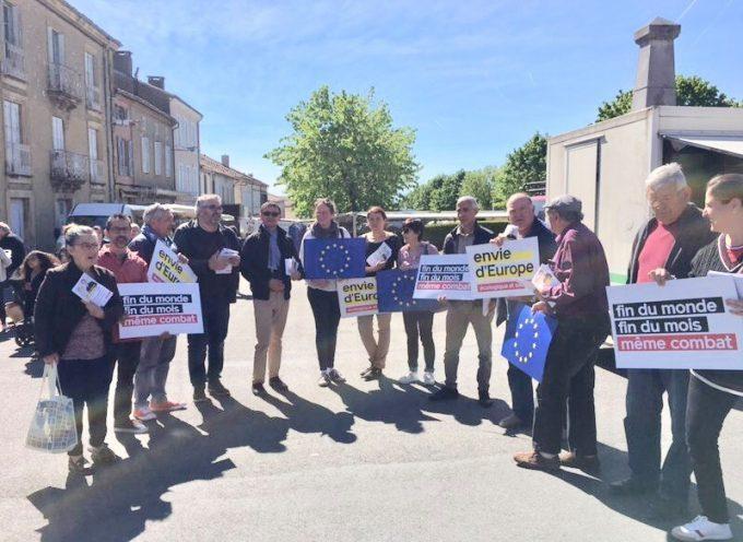 Saint-Gaudens : Joël AVIRAGNET mobilisé pour les élections Européennes