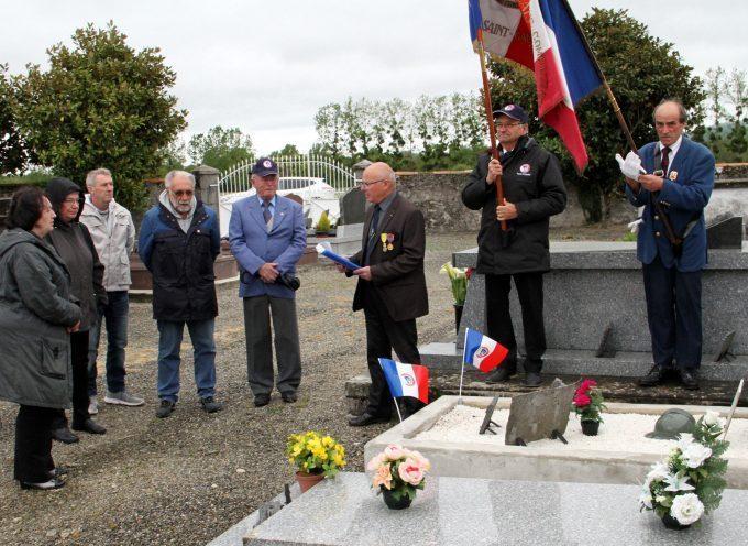 Bordes de Rivière : La tombe du soldat Joseph Capéran rénovée