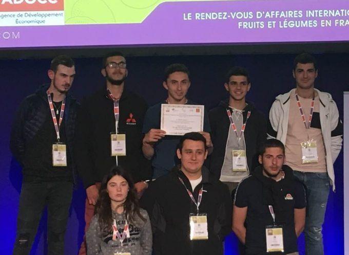 Le 1er prix pour les apprentis de CAP2 du CFA agricole de Saint-Gaudens
