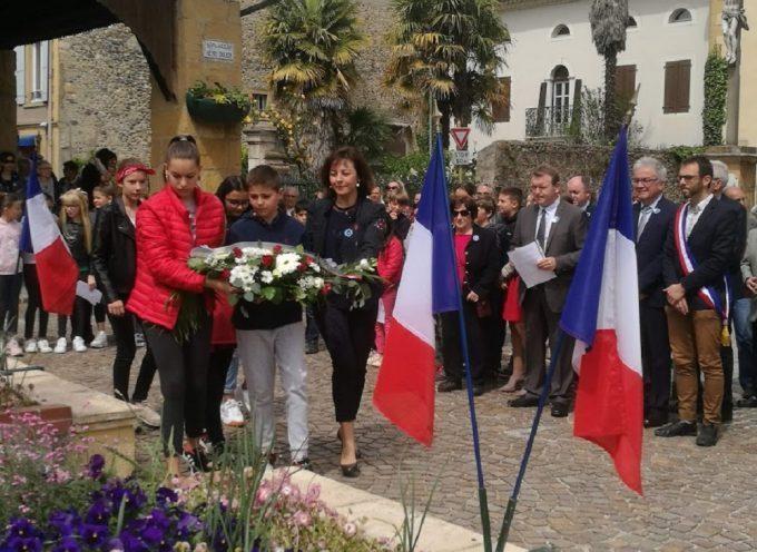 Les Martrais commémorent le 8 mai 1945 en présence de Carole Delga