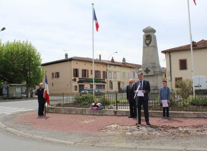 Montesquieu : Commémoration du 8 mai 1945