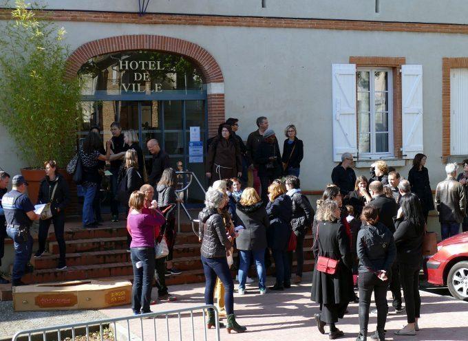 Professeurs en colère au Pays du Sud Toulousain