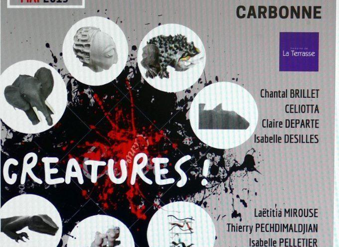 """Domaine de la Terrasse à Carbonne : Exposition """" Créatures ! """""""