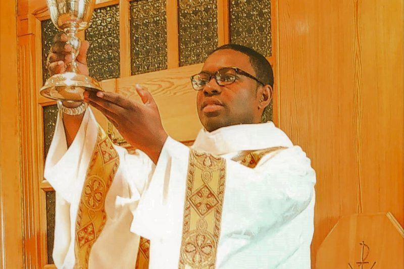 Romuald Wambo, futur prêtre muretain