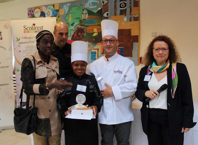 Papis, le grand gagnant du concours « les petits chefs »