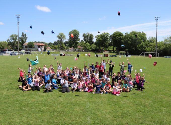 Rieux-Volvestre : Le foot… à l'école!