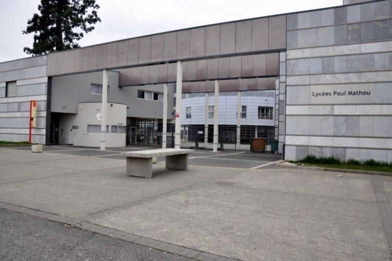 Façade du Lycée Paul Mathou